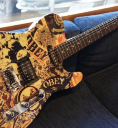 "Squier Squier×""OBEY"" Graphic Telecaster"