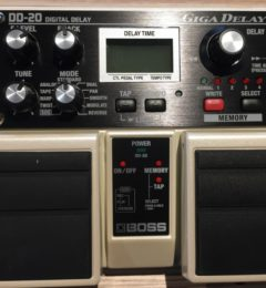 BOSS DD-20 DIGITAL DELAY GIGA DELAY ディレイ