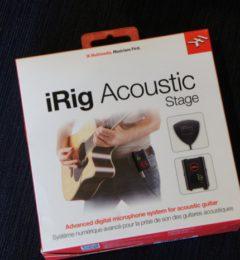 意外と便利な小物コレクション!! IK Multimedia iRig Acoustic Stage  アコースティック用のピックアップです!