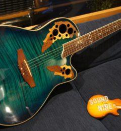 本日のギター買取!!Ovation CS247 美しいグリーンカラーのギターです!!