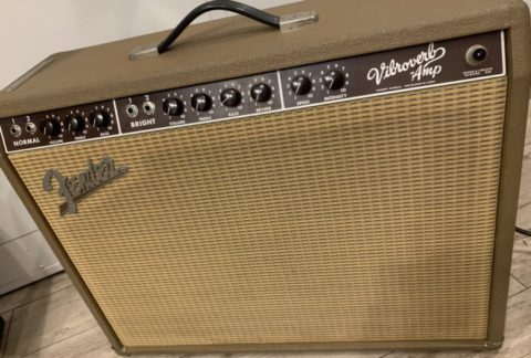 Fender  63 Vibroverb Reissue Brown Face