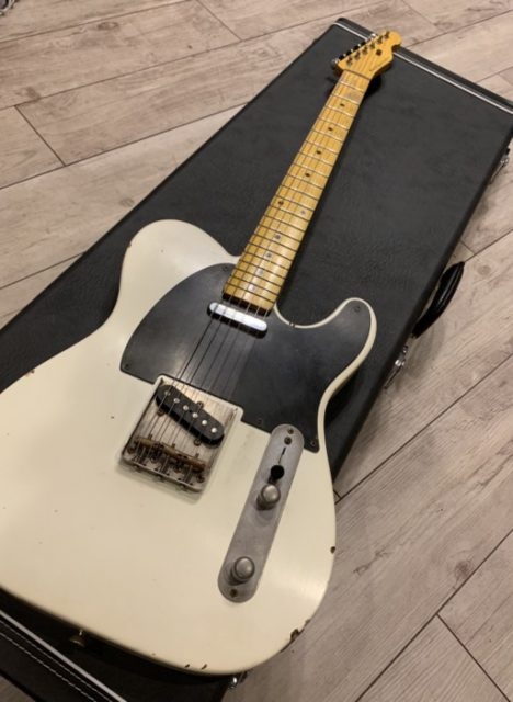 Nash Guitars  T-52 Olympic White