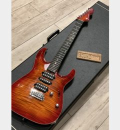 T's Guitars DST-Pro24 Carved Top, Flame