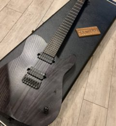 Strictly 7 Guitars 	ViperT Std+7 HT/T F/BKS Black Stain/ファンフレットスルーネック