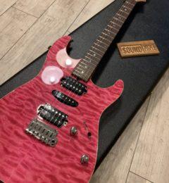 T's Guitars DST-Pro 22 Quilt ローステッドフレイムメイプルネック!!
