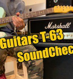 ギター ショップSOUNDNINE 新しい動画がUPされました! NashGuitarsをSoundCheck!