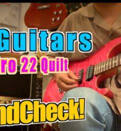 ギターショップSOUNDNINE! !SOUNDNINEチャンネルを更新しました!T,sGuitars DST-Pro22 Quilt ローステッドフレイムメイプルネック