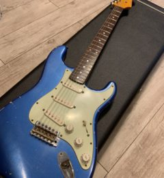 Nash Guitars 	S-63 Lake Placid Blue