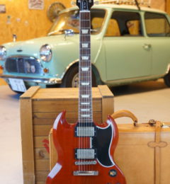 Gibson Custom Shop 	Historic Collection SG Standard Reissue Faded Cherry-