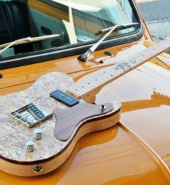 ねこまつり始まります!猫をモチーフにしたフルオーダーギター。