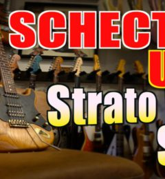 【試奏動画UP!】SCHECTER USA  ST SSH