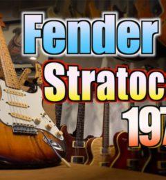 試奏動画UP! Fender Stratocaster 1979