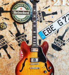 Gibson  ES-335 Icetea sunburst 1969