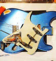 【店長チャンネル】 動画UPしました!ギターの解体新書!!Nashguitars S68 の内部に迫る!!